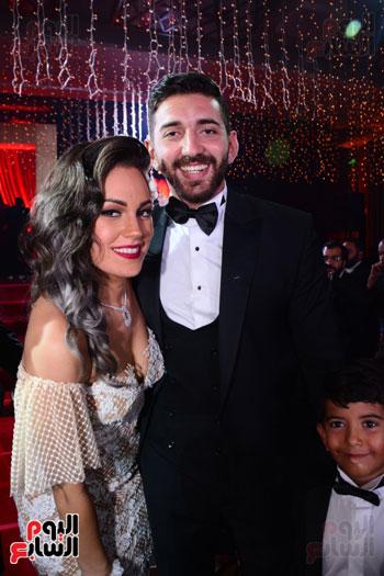 الموسيقار أمير عبد المجيد يحتفل بزفاف ابنته على الإعلامى أحمد الطاهرى (21)