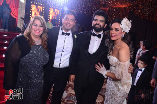الموسيقار أمير عبد المجيد يحتفل بزفاف ابنته على الإعلامى أحمد الطاهرى (24)