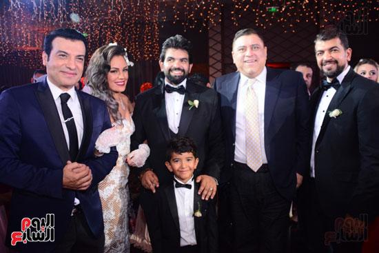 الموسيقار أمير عبد المجيد يحتفل بزفاف ابنته على الإعلامى أحمد الطاهرى (2)