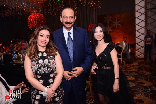 الموسيقار أمير عبد المجيد يحتفل بزفاف ابنته على الإعلامى أحمد الطاهرى (44)