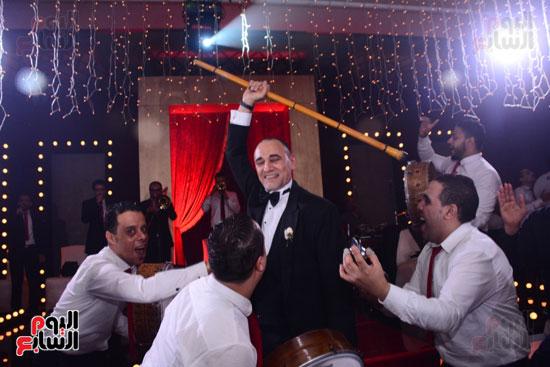 الموسيقار أمير عبد المجيد يحتفل بزفاف ابنته على الإعلامى أحمد الطاهرى (62)