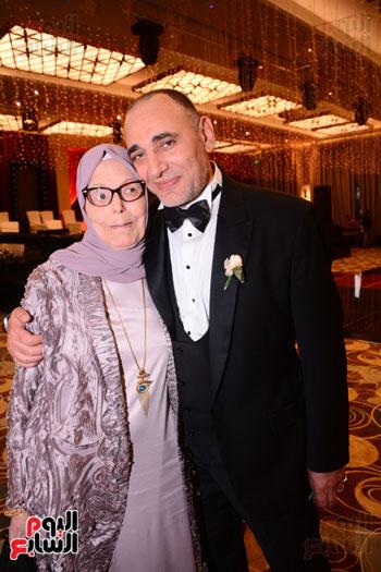 الموسيقار أمير عبد المجيد يحتفل بزفاف ابنته على الإعلامى أحمد الطاهرى (75)