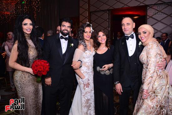 الموسيقار أمير عبد المجيد يحتفل بزفاف ابنته على الإعلامى أحمد الطاهرى (15)