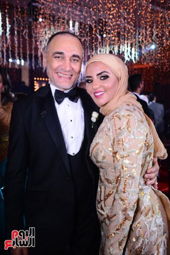 الموسيقار أمير عبد المجيد يحتفل بزفاف ابنته على الإعلامى أحمد الطاهرى (14)