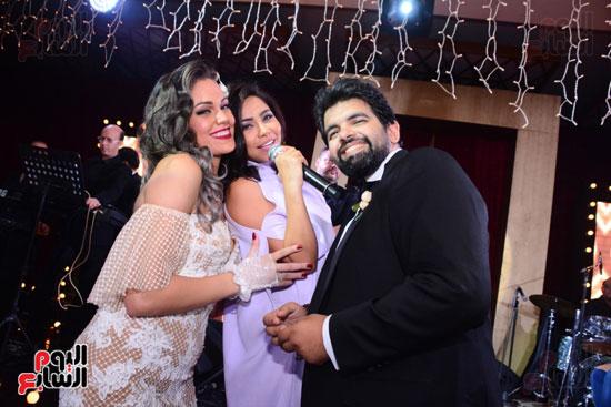 الموسيقار أمير عبد المجيد يحتفل بزفاف ابنته على الإعلامى أحمد الطاهرى (48)