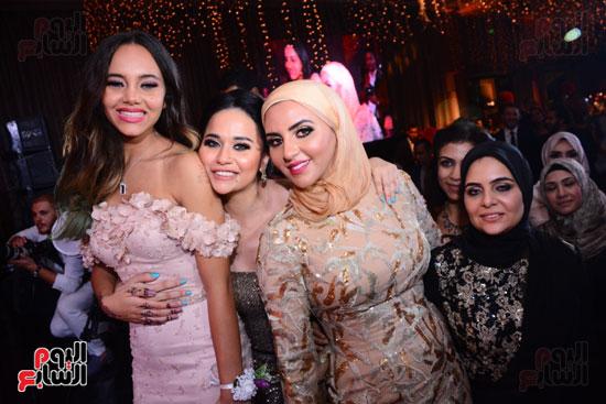 الموسيقار أمير عبد المجيد يحتفل بزفاف ابنته على الإعلامى أحمد الطاهرى (41)