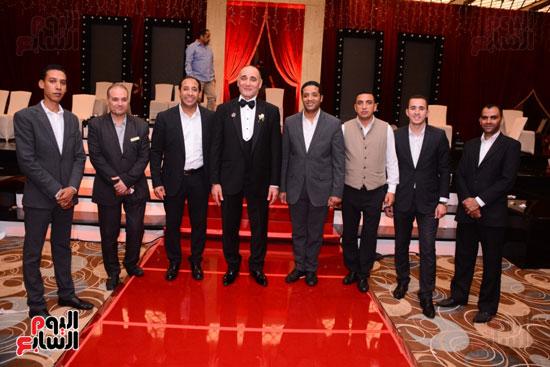 الموسيقار أمير عبد المجيد يحتفل بزفاف ابنته على الإعلامى أحمد الطاهرى (76)