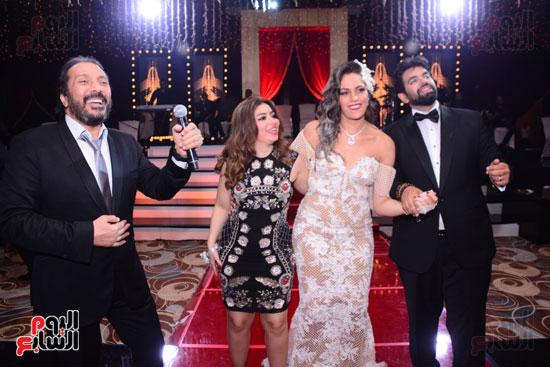 الموسيقار أمير عبد المجيد يحتفل بزفاف ابنته على الإعلامى أحمد الطاهرى (70)