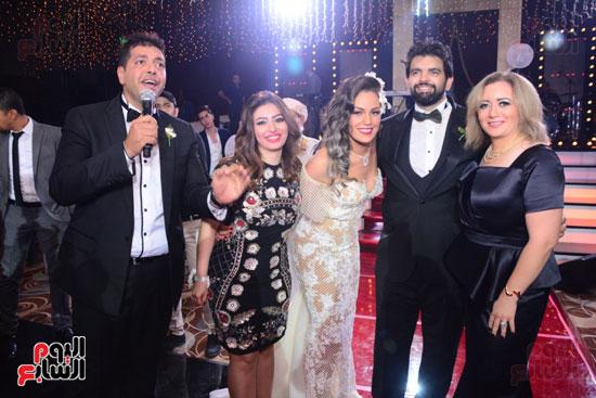 الموسيقار أمير عبد المجيد يحتفل بزفاف ابنته على الإعلامى أحمد الطاهرى (20)