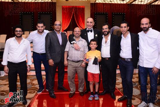 الموسيقار أمير عبد المجيد يحتفل بزفاف ابنته على الإعلامى أحمد الطاهرى (77)