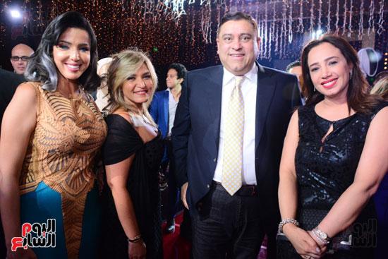 الموسيقار أمير عبد المجيد يحتفل بزفاف ابنته على الإعلامى أحمد الطاهرى (5)