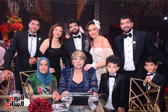 الموسيقار أمير عبد المجيد يحتفل بزفاف ابنته على الإعلامى أحمد الطاهرى (52)