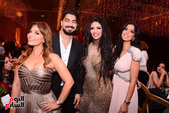 الموسيقار أمير عبد المجيد يحتفل بزفاف ابنته على الإعلامى أحمد الطاهرى (30)