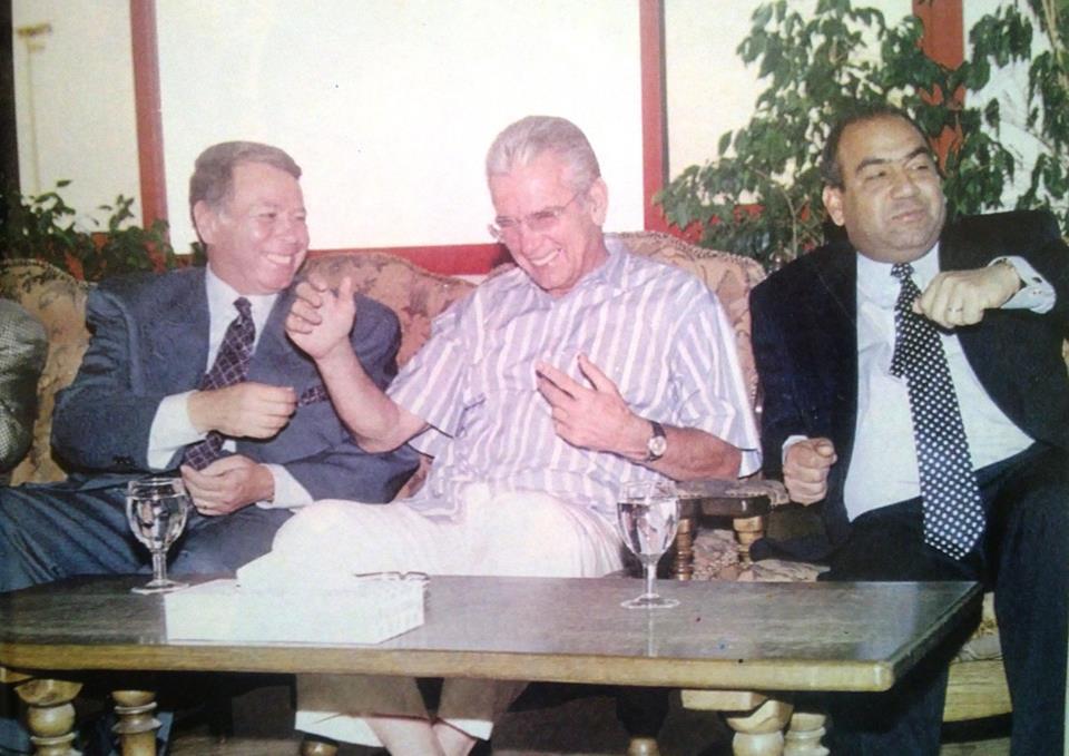 صالح سليم و حسن حمدى و اسماعيل عثمان