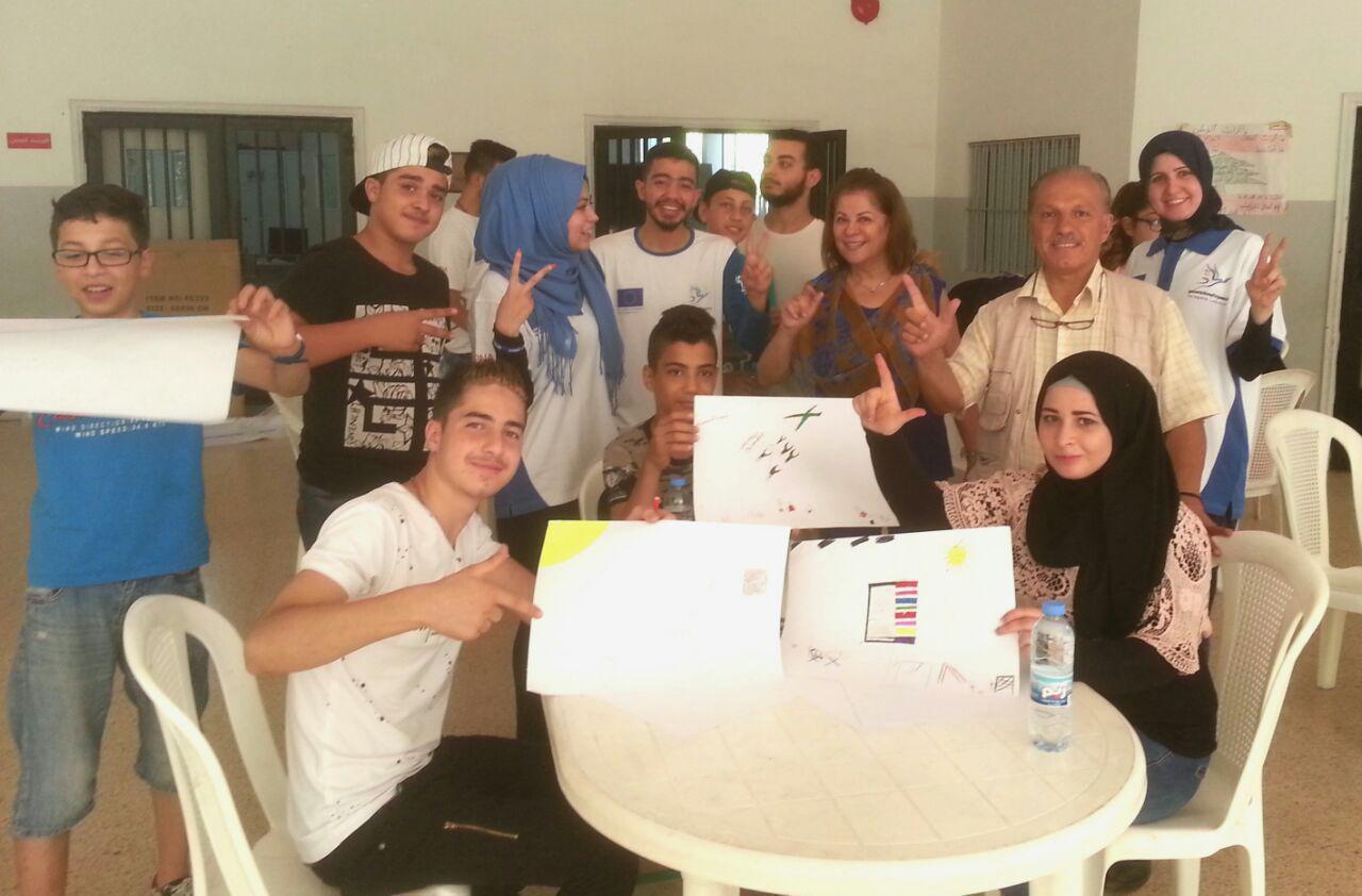 تدريب معسكر المتدربين في لبنان