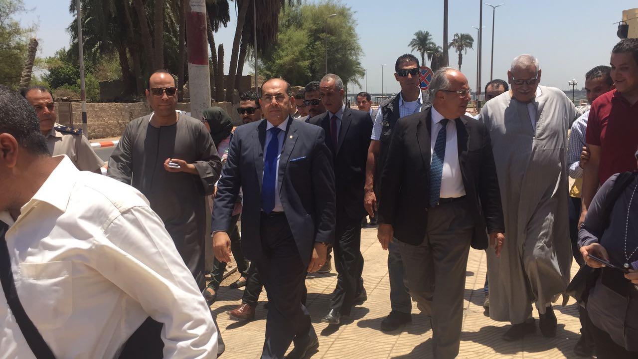 وزير التنمية المحلة و محافظ سوهاج