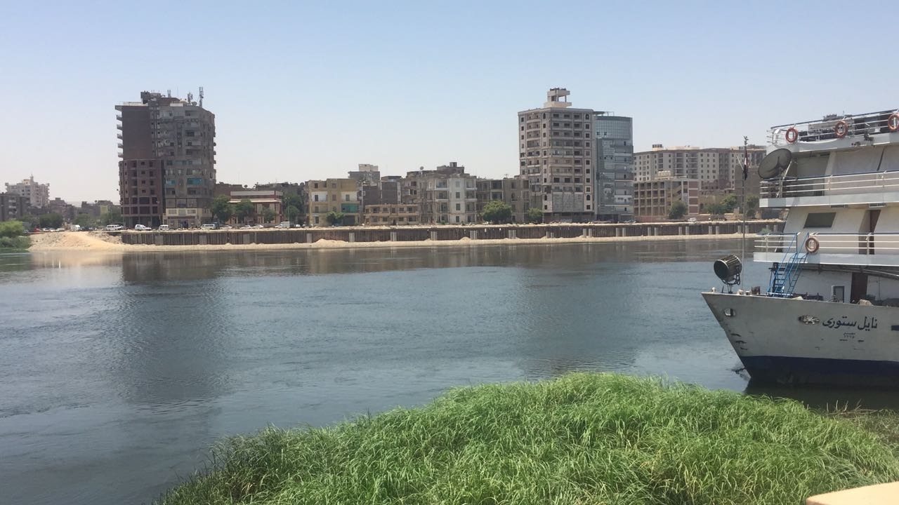 جانب من كونيش النيل الغربى