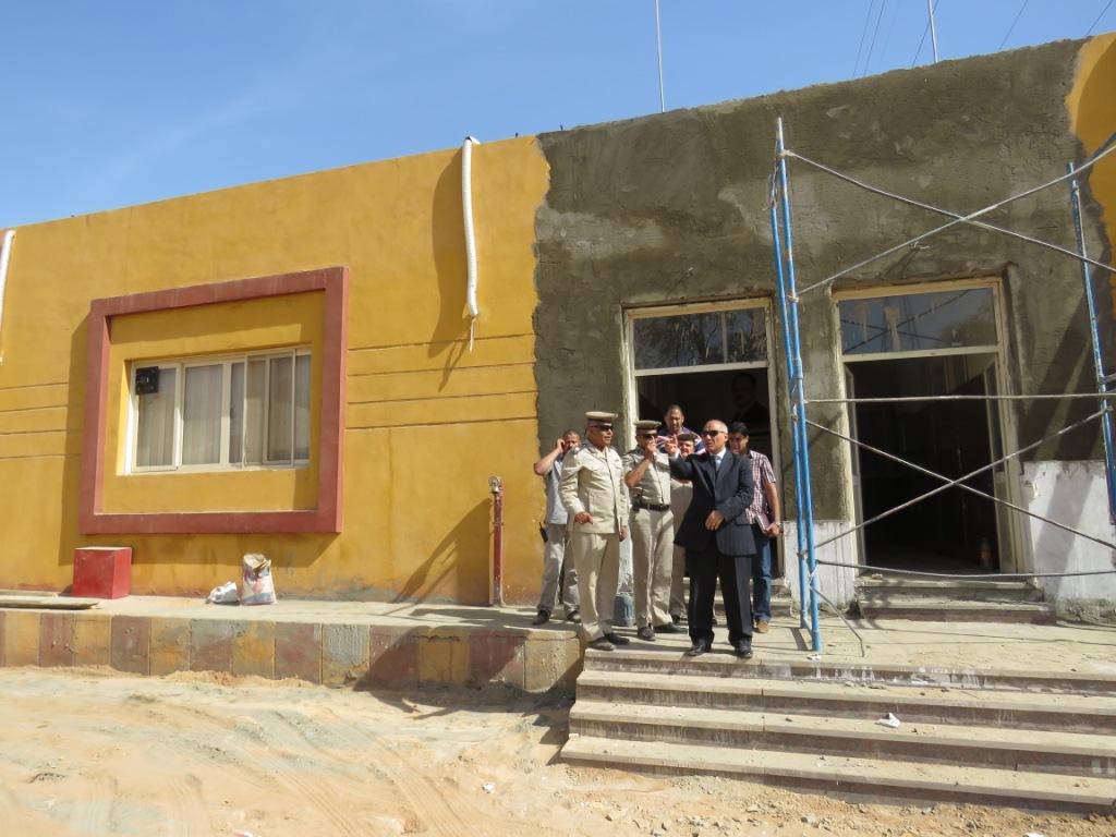مدير أمن أسوان يتفقد الإنشاءات الجديدة بإدارة قوات الأمن (5)