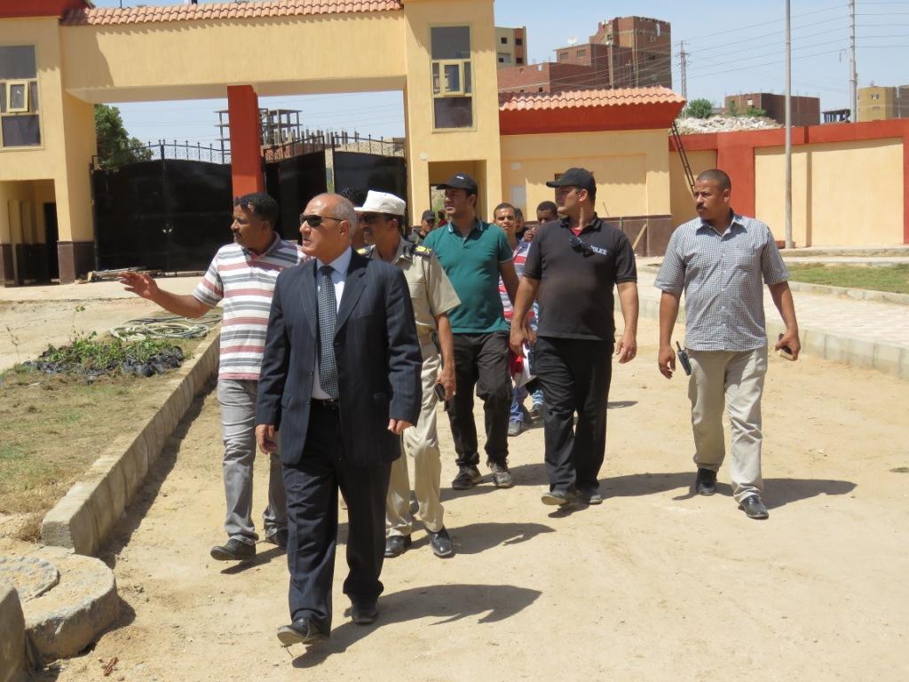 مدير أمن أسوان يتفقد الإنشاءات الجديدة بإدارة قوات الأمن (3)