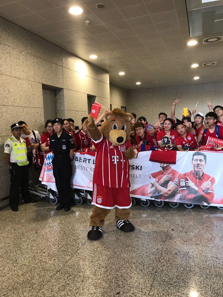 جماهير بايرن ميونخ في الصين