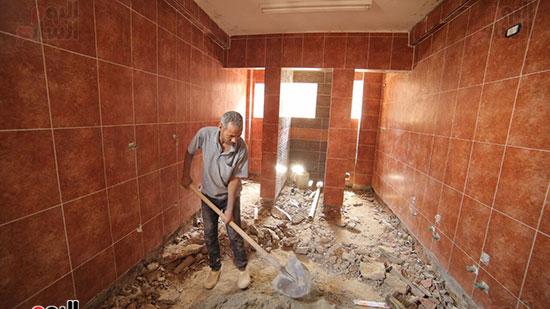 حديد المصريين تطلق مبادرة إعادة تأهيل دور أطفال الشوارع والمسنين والأيتام بالتعاون مع وزارة الداخلية (4)