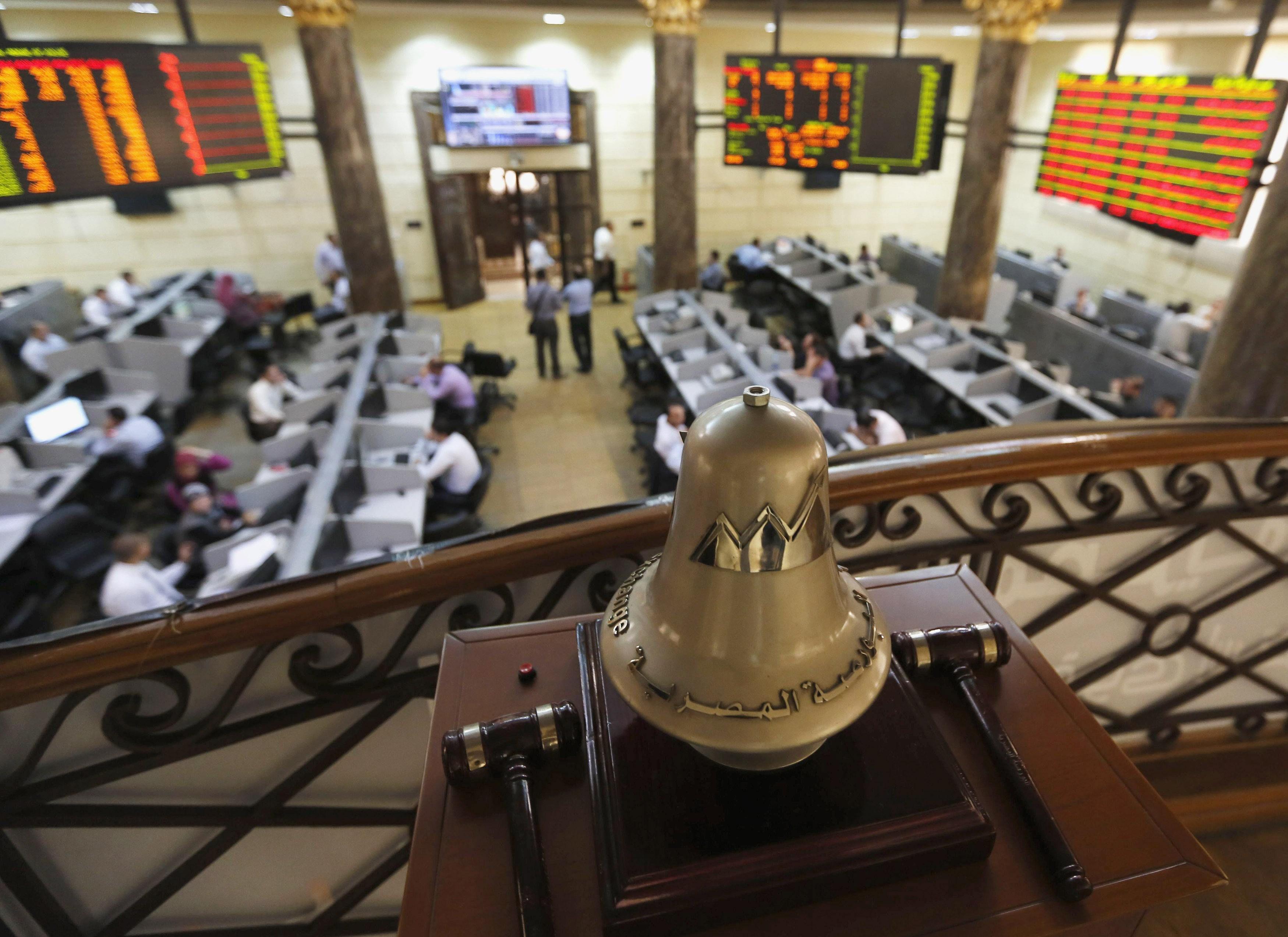 الأسهم بالبورصة المصرية