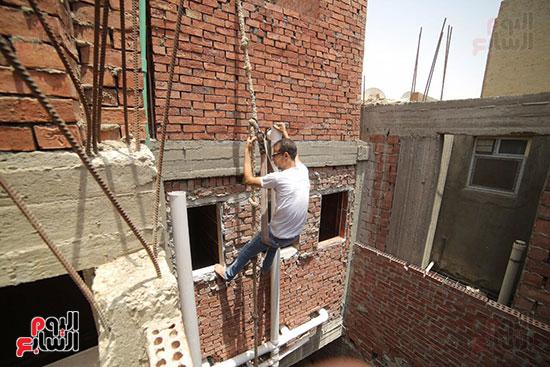 حديد المصريين تطلق مبادرة إعادة تأهيل دور أطفال الشوارع والمسنين والأيتام بالتعاون مع وزارة الداخلية (7)
