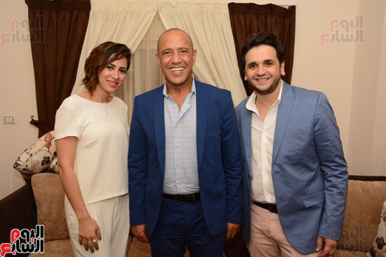 عقد قران نجم مسرح مصر مصطفى خاطر فى حفل عائلى (12)