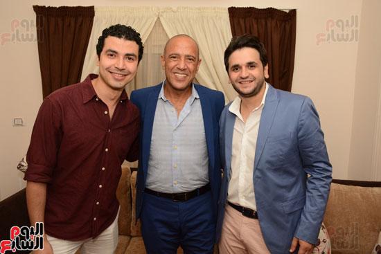 عقد قران نجم مسرح مصر مصطفى خاطر فى حفل عائلى (10)