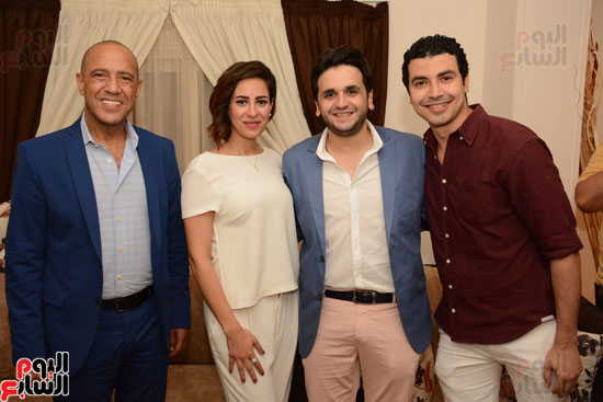 عقد قران نجم مسرح مصر مصطفى خاطر فى حفل عائلى (11)