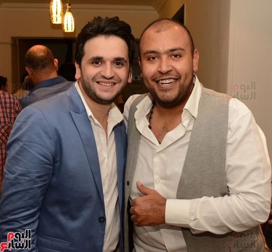 عقد قران نجم مسرح مصر مصطفى خاطر فى حفل عائلى (9)