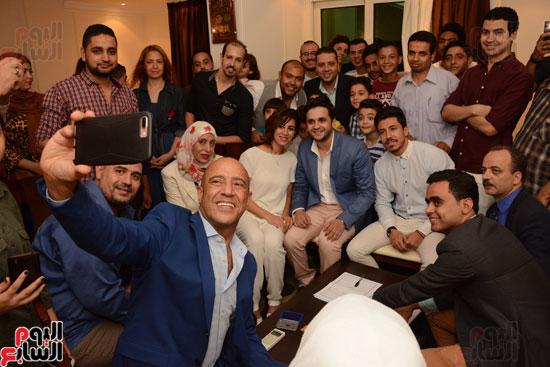 عقد قران نجم مسرح مصر مصطفى خاطر فى حفل عائلى (3)
