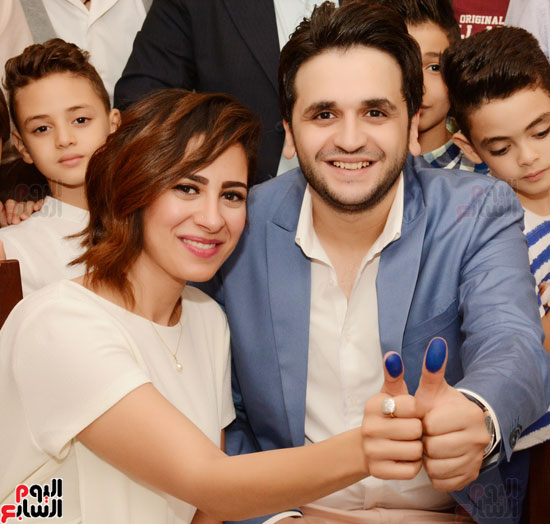 عقد قران نجم مسرح مصر مصطفى خاطر فى حفل عائلى (14)