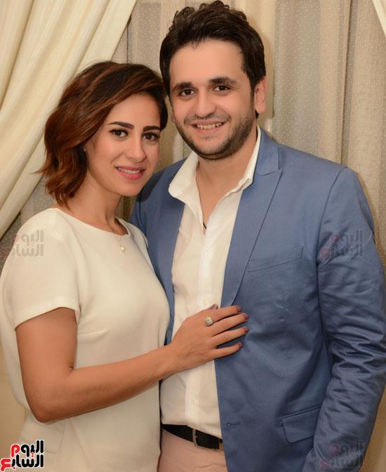 عقد قران نجم مسرح مصر مصطفى خاطر فى حفل عائلى (2)