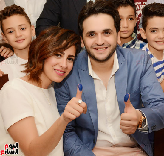 عقد قران نجم مسرح مصر مصطفى خاطر فى حفل عائلى (1)