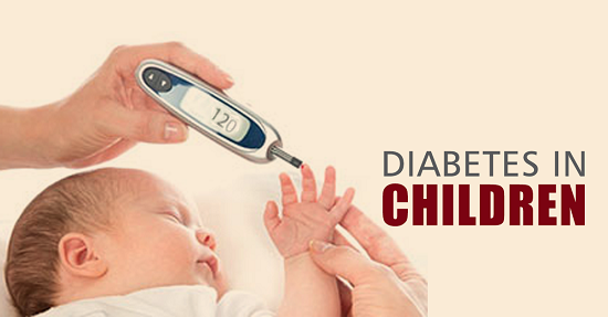 أعراض مرض السكر عند الأطفال
