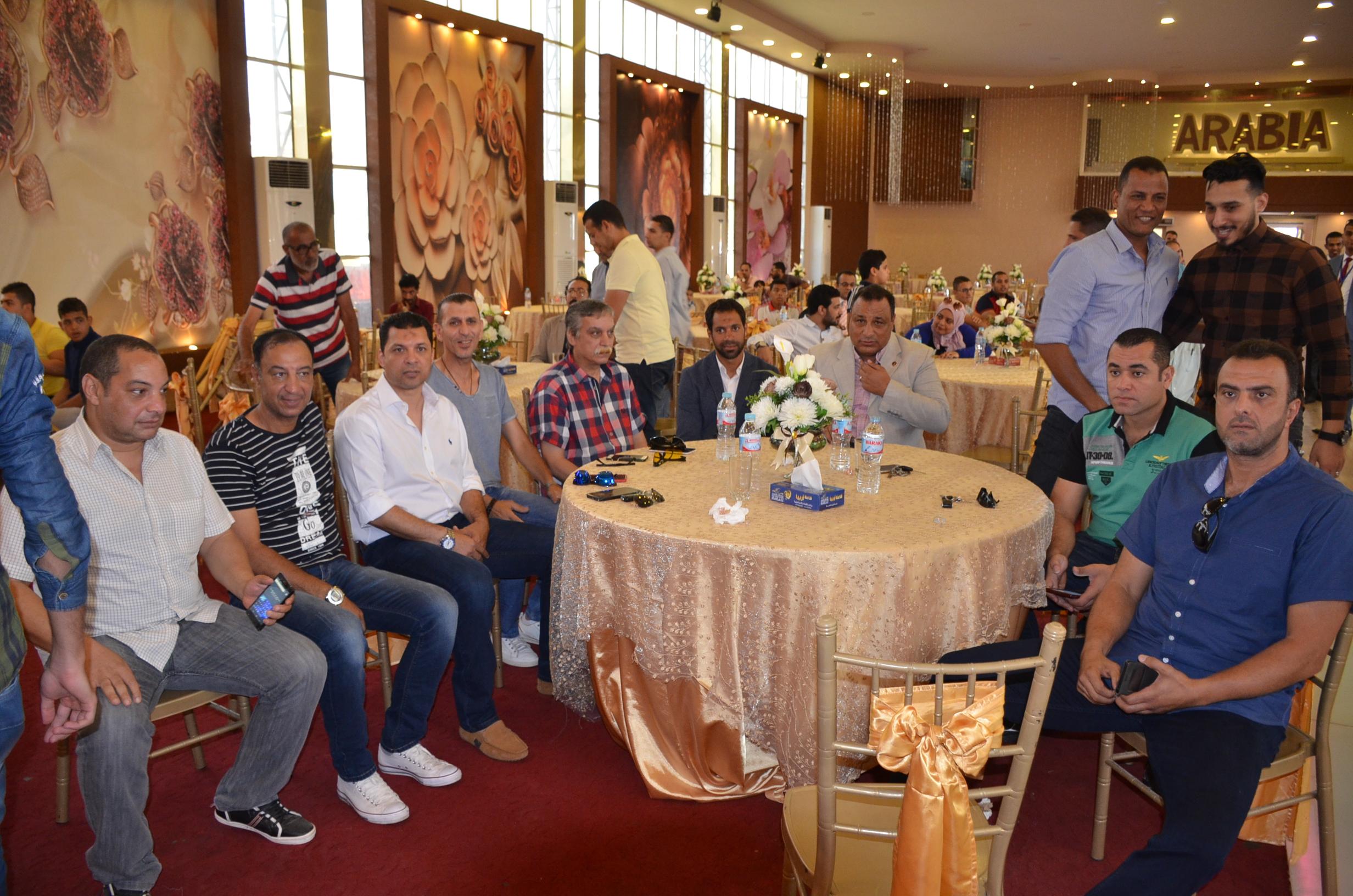 2- جانب من الحضور  اثناء الاحتفال