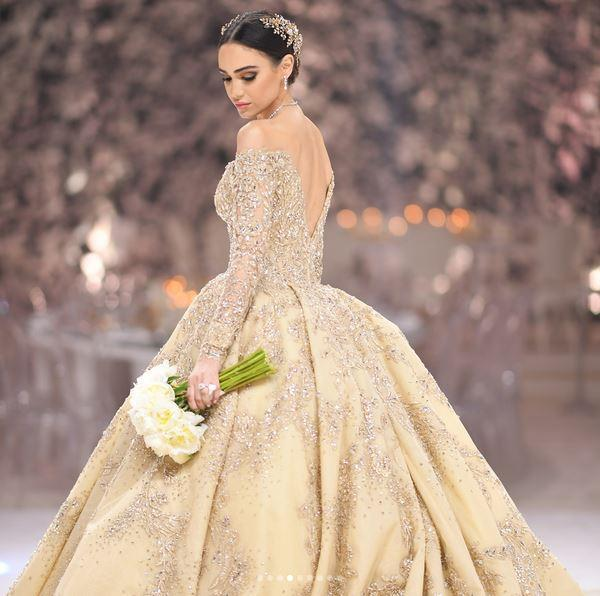 8571a31fd55ff 10 فساتين زفاف من تصميم زهير مراد لو بتدورى على إطلالة ملكية - اليوم ...