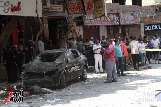 أسطوانة غاز داخل أحد المطاعم وراء انفجار المعادى (4)
