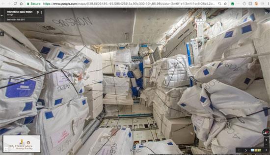 جوجل تنشر خدمة أول مجموعة صور من الفضاء تسمح باستكشاف محطة فضاء افتراضيا (12)