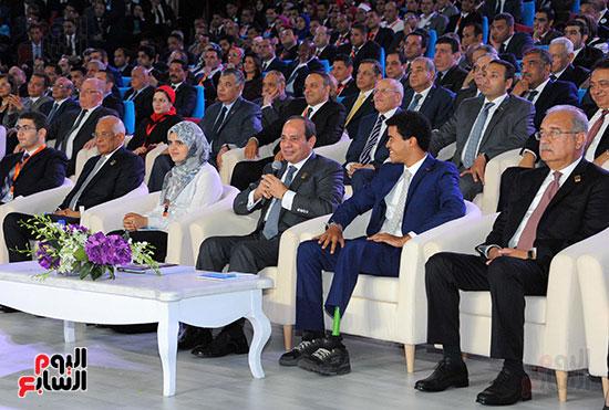 السيسى فى مؤتمر الشباب (8)