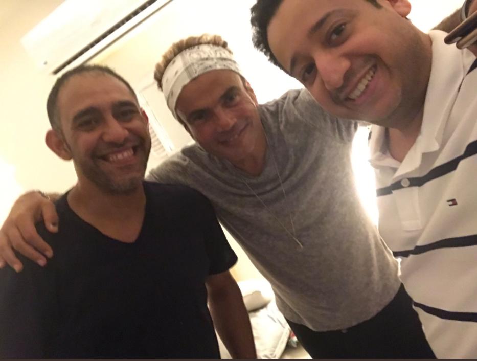جلسة صلح بين عمرو دياب وعمرو مصطفى