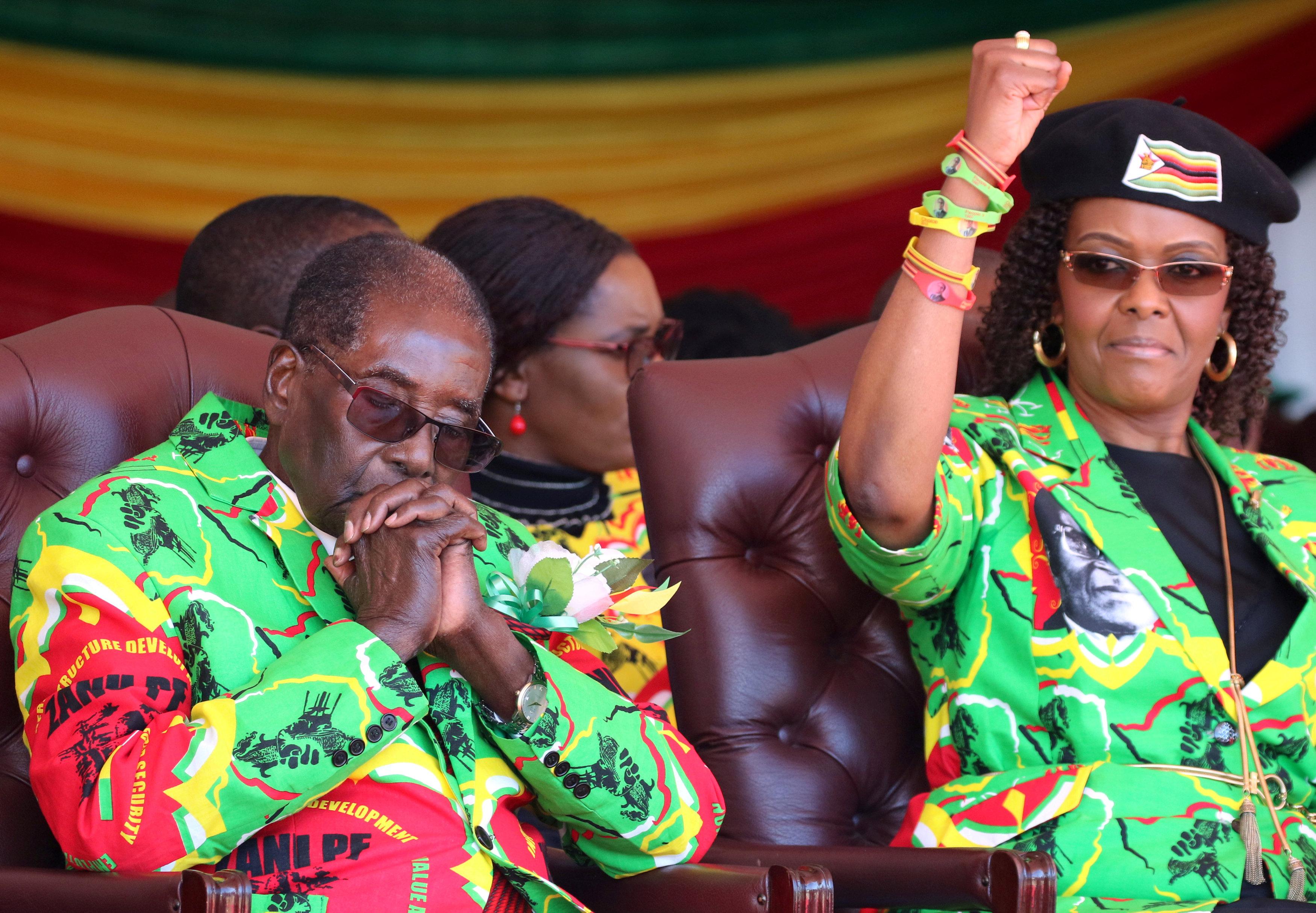 السيدة الأولى فى زيمبابوى جريس موجابى