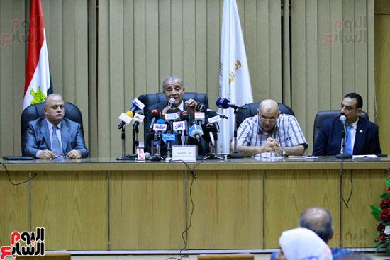 مؤتمر وزير التموين على المصيلحى (10)