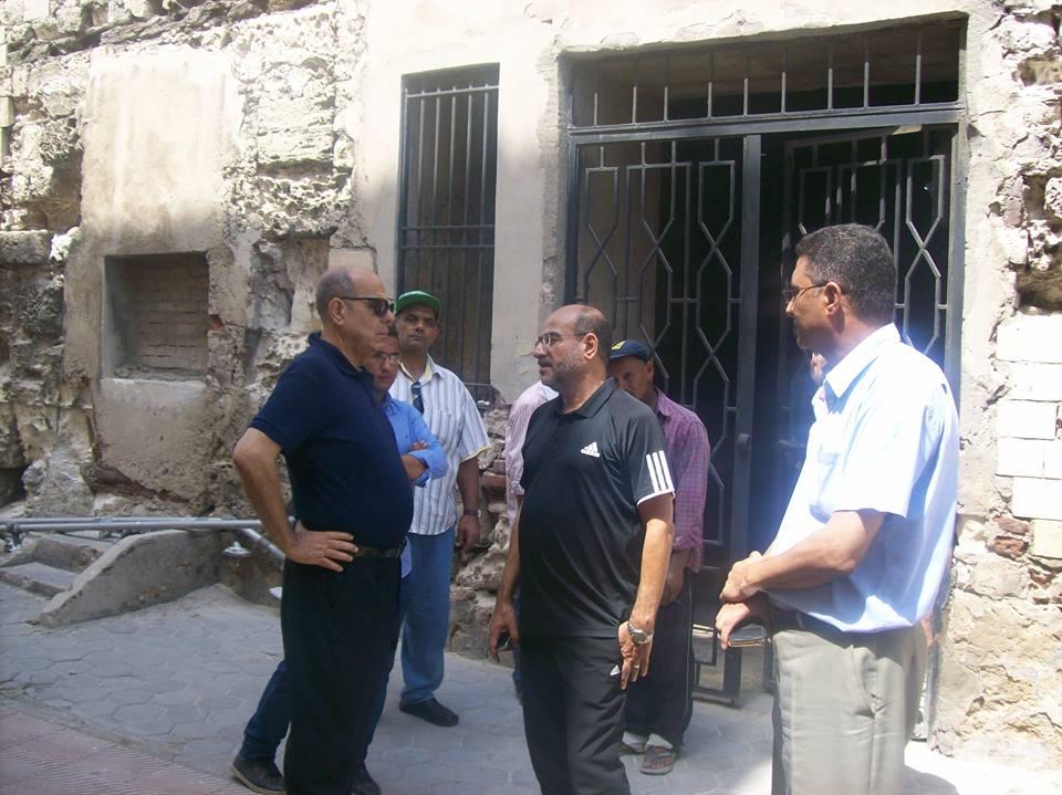 عامر حسين يشرح لروراوة تفاصيل الاستعدادات للبطولة العربية