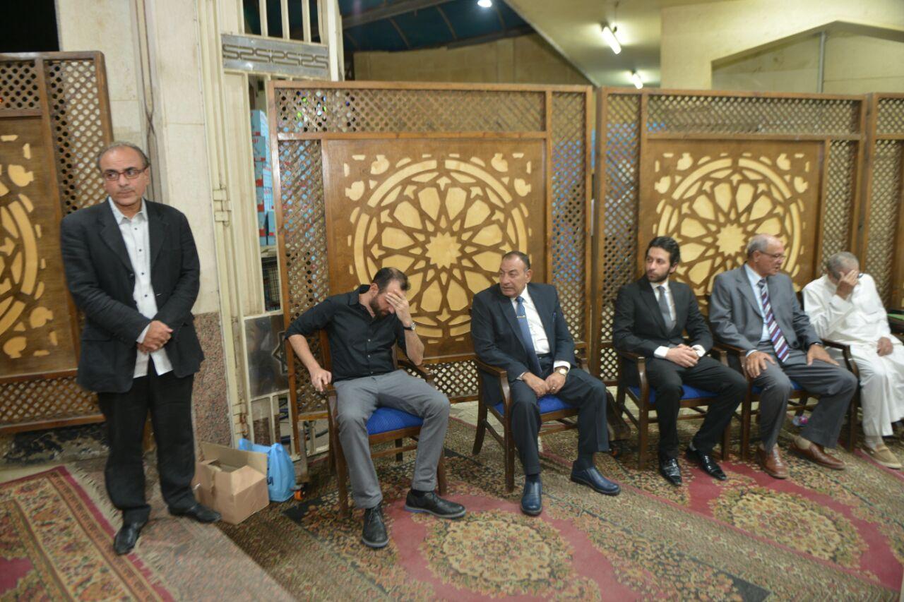 جانب من عزاء والد المخرج عمرو سلامة