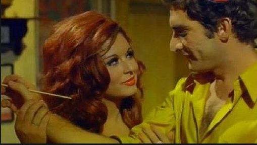 محي اسماعيل مع سعاد حسني في فيلم خلي بالك من زوزو