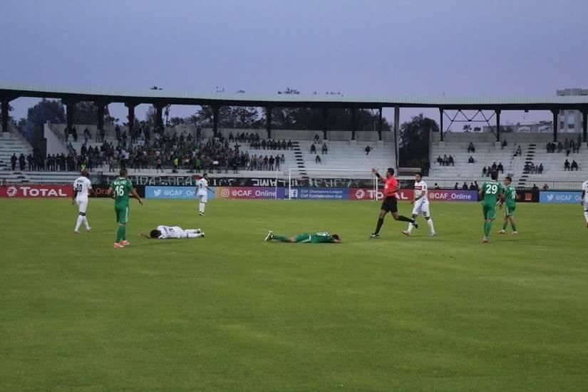 مباراة الزمالك و أهلى طرابلس الليبى