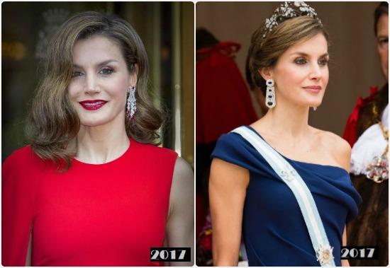 ليتيزيا ملكة إسبانيا عام 2017