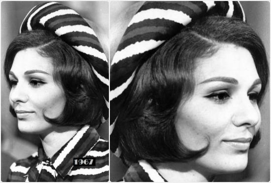 فرح بهلوي إمبراطورة إيران السابقة وصورة عام 1967